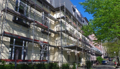 PATEN statt WARTEN: Neue Fassade für das Hamburg Leuchtfeuer Hospiz